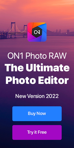 ON1 Photo RAW - The Ultimate Photo Editor - Learn More or Try it Free