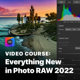 Everything New in Photo RAW 2022 Course